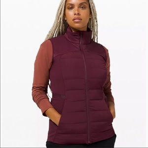 New Lululemon Down For It All Vest DKAD Size 0